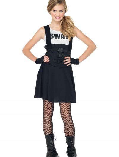 Teen SWAT Girl Costume, halloween costume (Teen SWAT Girl Costume)