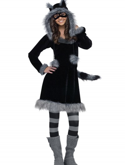 Teen Sweet Raccoon Costume, halloween costume (Teen Sweet Raccoon Costume)