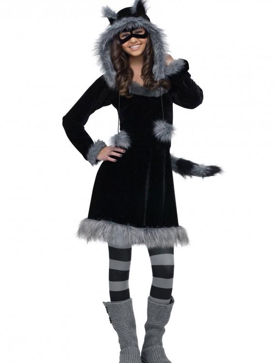 Teen Sweet Raccoon Costume, halloween costume (Teen Sweet Raccoon Costume)