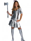 Teen Tin Woman Costume, halloween costume (Teen Tin Woman Costume)