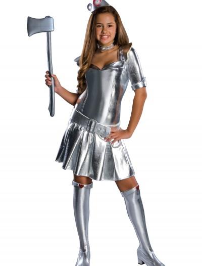Teen Tin Woman Costume, halloween costume (Teen Tin Woman Costume)