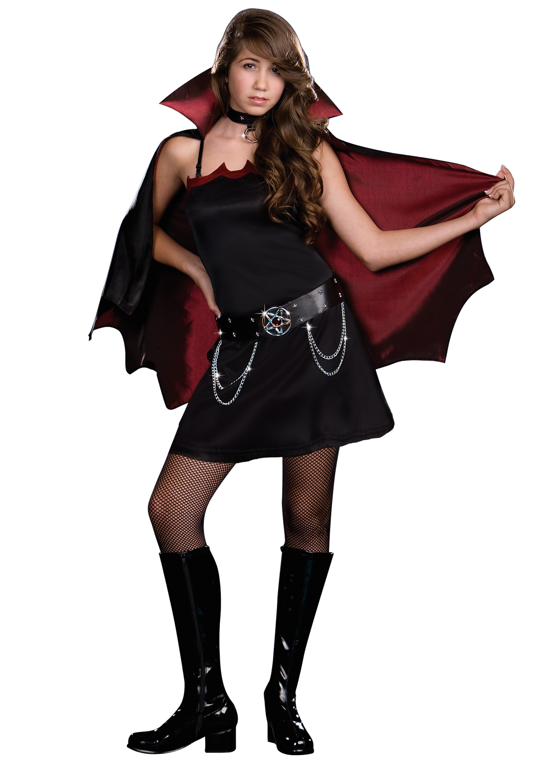 Halloween Vampire Costume Kids.Teen Twilight Bite Vampire Costume