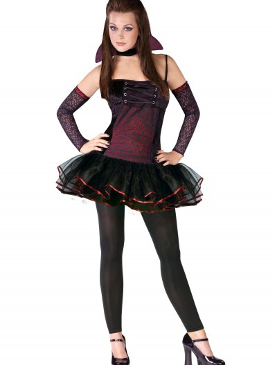 Teen Vamparina Costume, halloween costume (Teen Vamparina Costume)