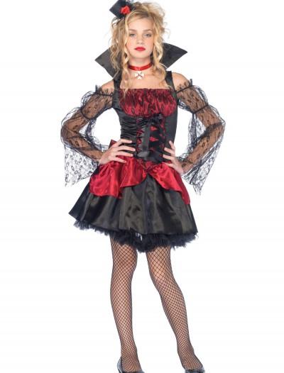 Teen Victorian Vampira Costume, halloween costume (Teen Victorian Vampira Costume)