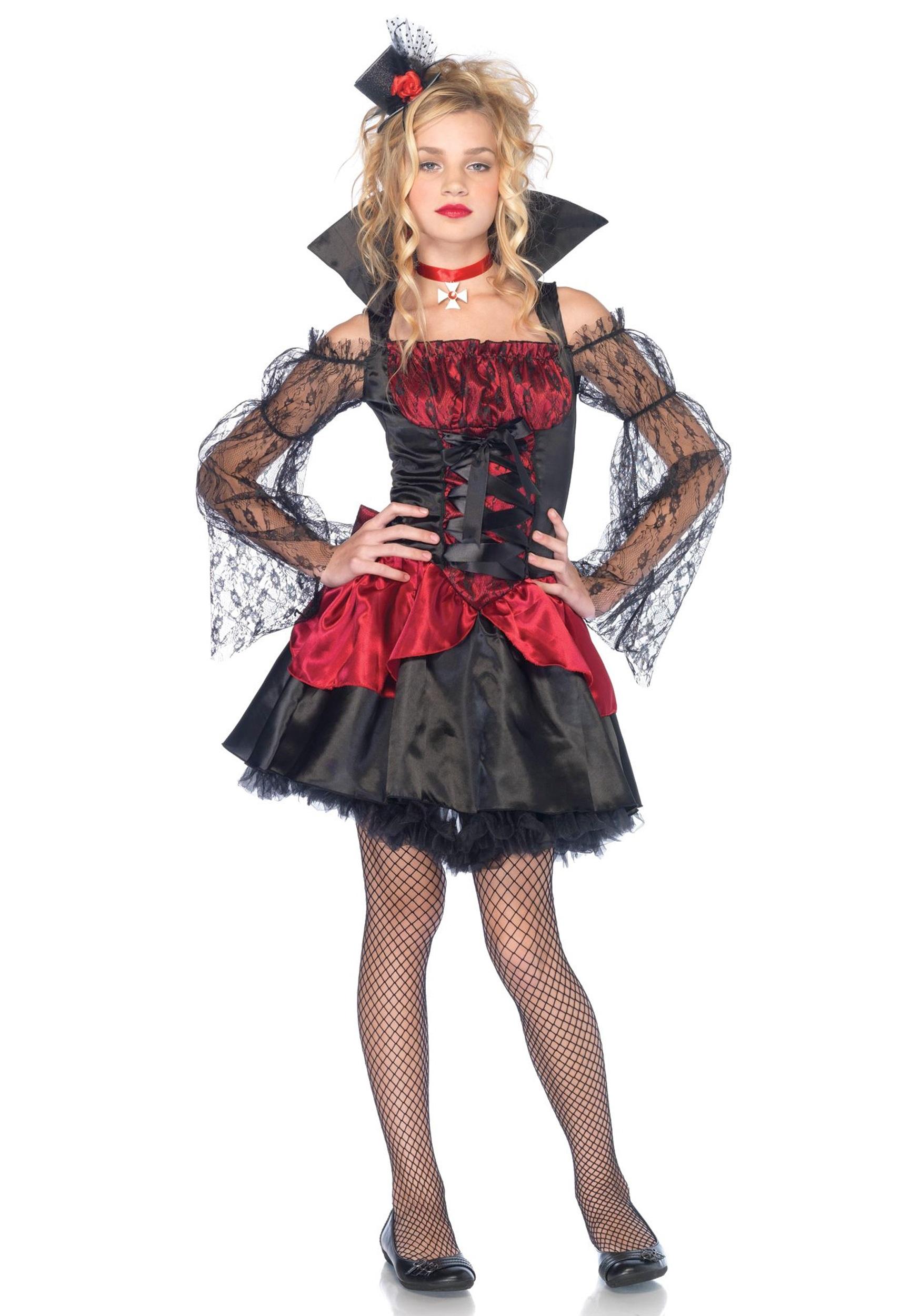 Teen Victorian V&ira Costume  sc 1 st  Halloween Costumes & Teen Victorian Vampira Costume - Halloween Costumes
