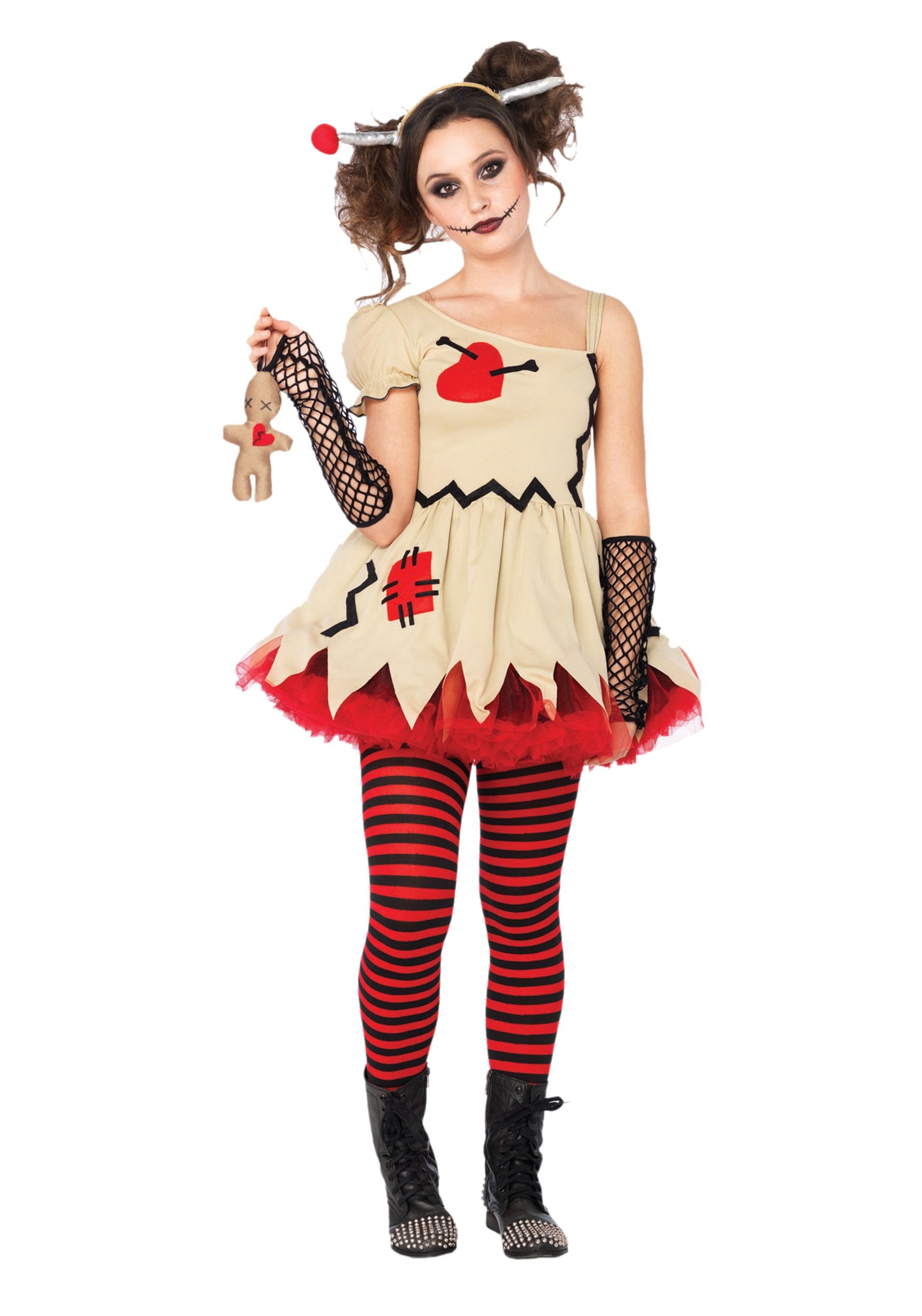teen voodoo doll costume - halloween costumes