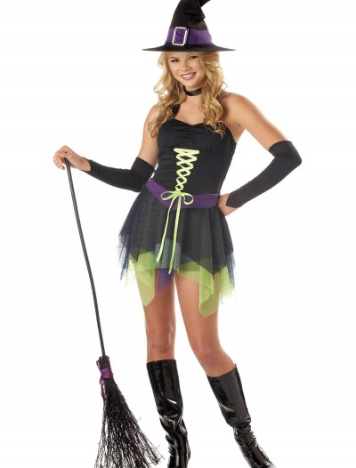 Teen Whimsical Witch Costume, halloween costume (Teen Whimsical Witch Costume)