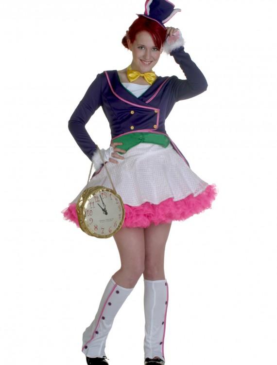 Teen White Bunny Girl Costume, halloween costume (Teen White Bunny Girl Costume)