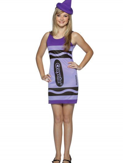 Teen Wisteria Crayon Dress, halloween costume (Teen Wisteria Crayon Dress)
