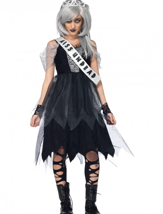 Teen Zombie Prom Queen Costume, halloween costume (Teen Zombie Prom Queen Costume)