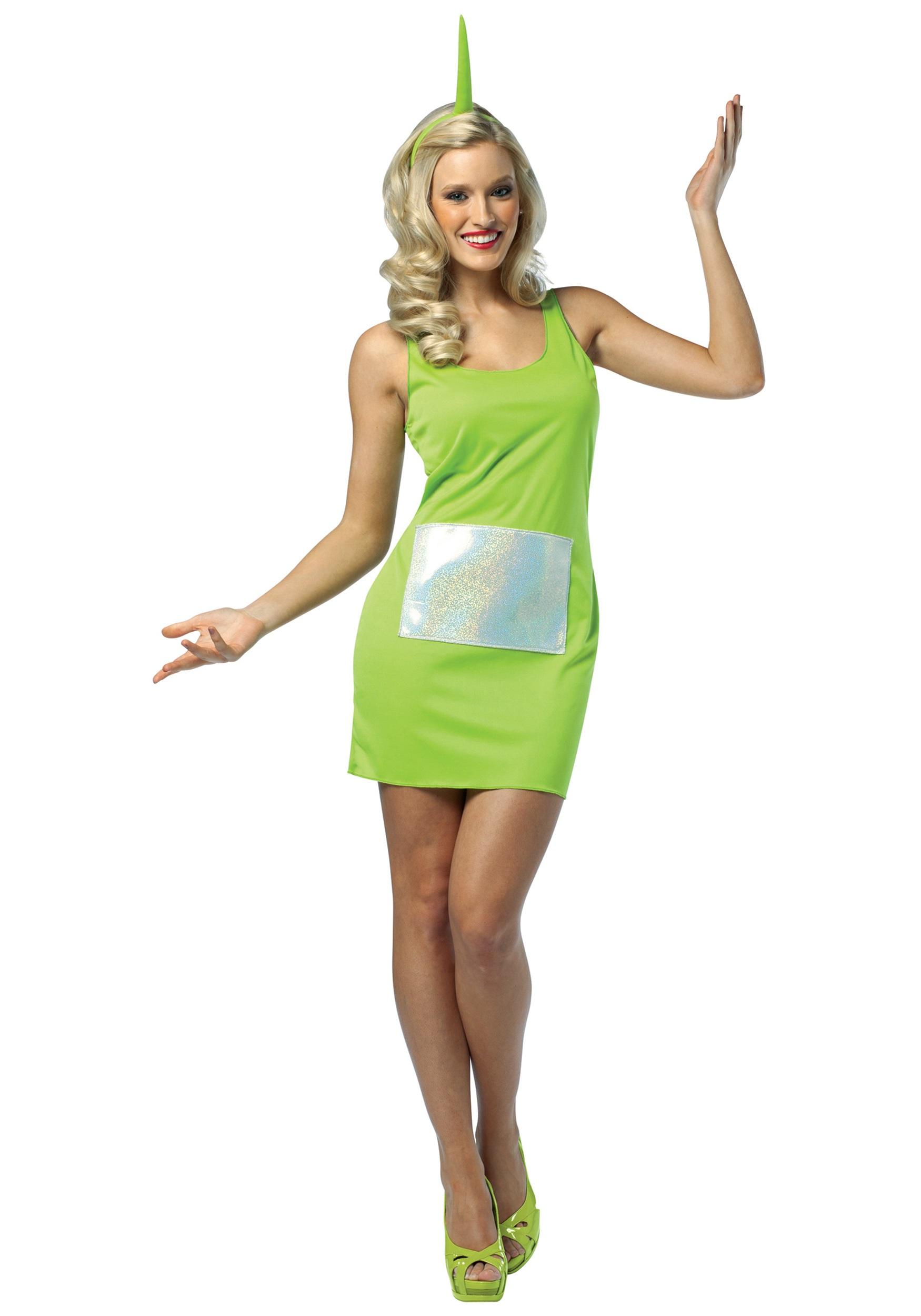 Teletubbies Dipsy Tank Dress