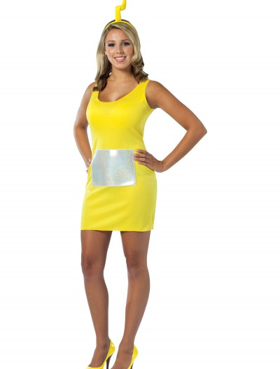 Teletubbies Laa-Laa Tank Dress, halloween costume (Teletubbies Laa-Laa Tank Dress)