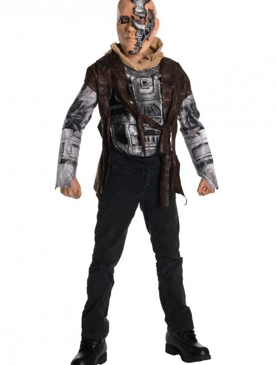 Terminator 4 Child Deluxe T600 Costume, halloween costume (Terminator 4 Child Deluxe T600 Costume)