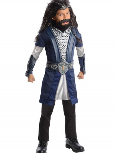 The Hobbit Deluxe Thorin Child Costume, halloween costume (The Hobbit Deluxe Thorin Child Costume)