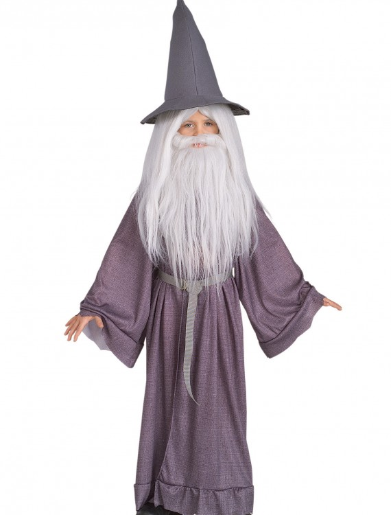 The Hobbit Kids Gandalf Costume, halloween costume (The Hobbit Kids Gandalf Costume)