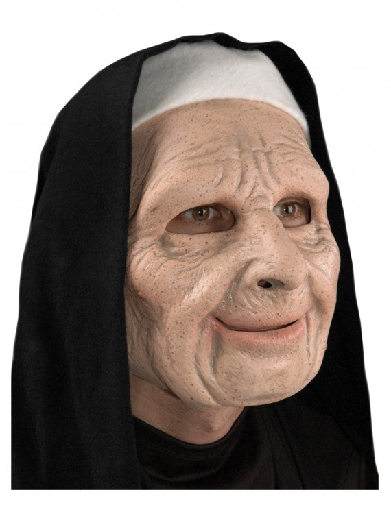 The Town Scary Nun Mask, halloween costume (The Town Scary Nun Mask)