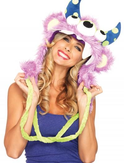 Three Eyed Fred Furry Monster Hood, halloween costume (Three Eyed Fred Furry Monster Hood)