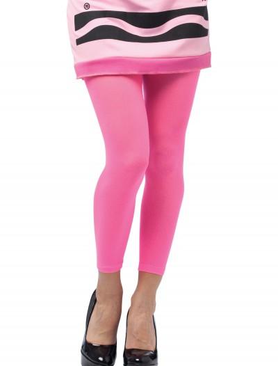 Tickle Me Pink Crayon Leggings, halloween costume (Tickle Me Pink Crayon Leggings)