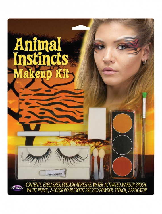 Tiger Animal Instincts Makeup Kit, halloween costume (Tiger Animal Instincts Makeup Kit)