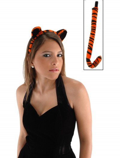 Tiger Ears & Tail Set, halloween costume (Tiger Ears & Tail Set)