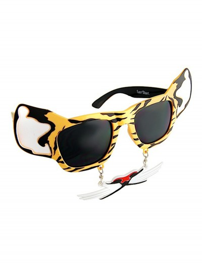 Tiger 'Stache Sunglasses, halloween costume (Tiger 'Stache Sunglasses)