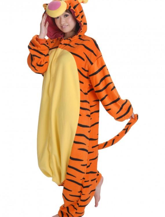 Tigger Pajama Costume, halloween costume (Tigger Pajama Costume)