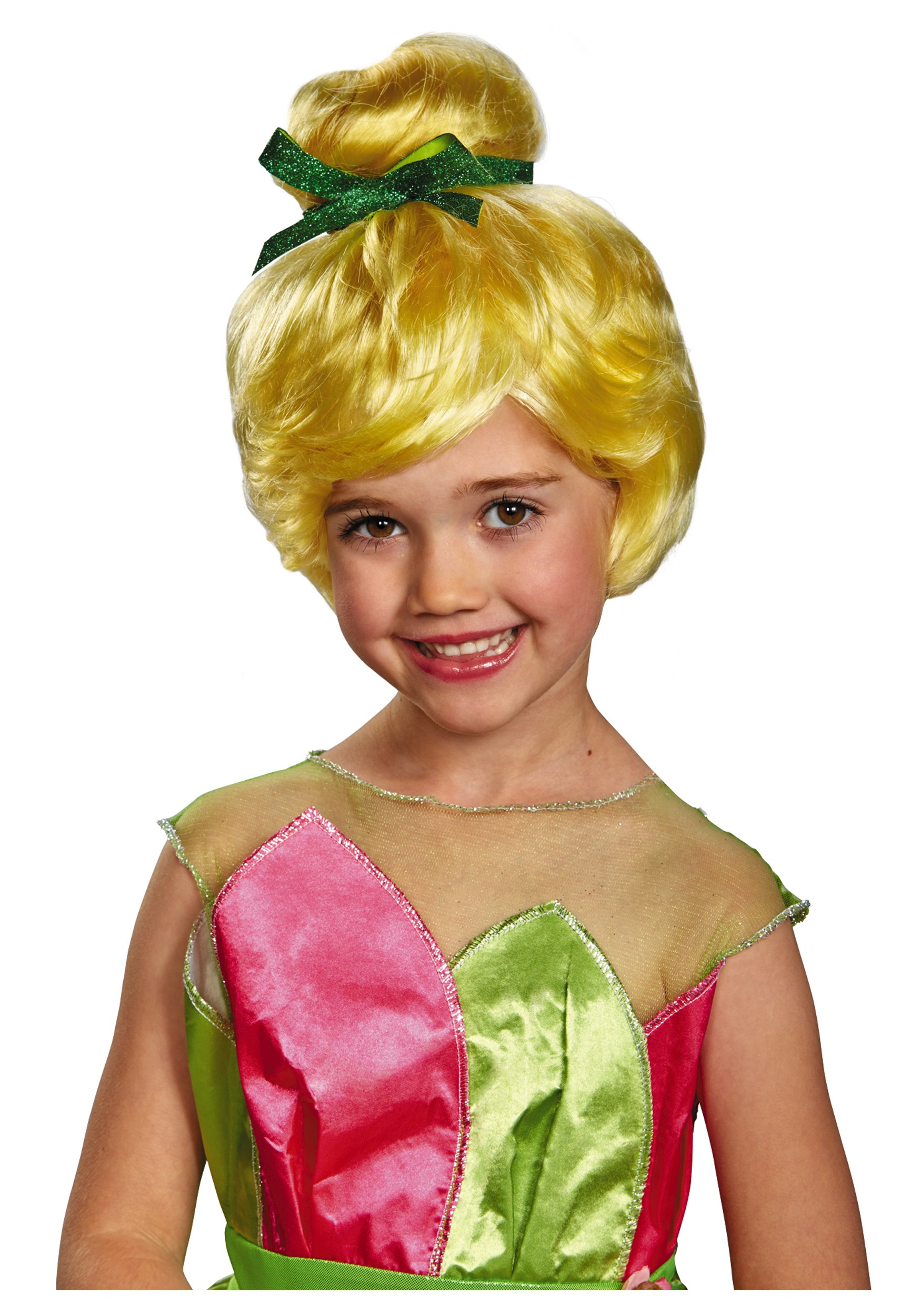 3227203849a Tinker Bell Child Wig