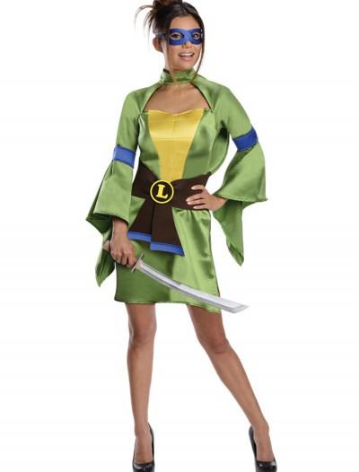 TMNT Adult Geisha Leonardo Costume, halloween costume (TMNT Adult Geisha Leonardo Costume)