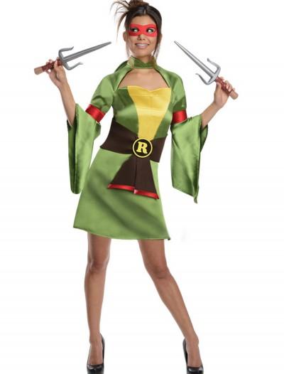TMNT Adult Geisha Raphael Costume, halloween costume (TMNT Adult Geisha Raphael Costume)