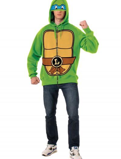 TMNT Leonardo Adult Hoodie, halloween costume (TMNT Leonardo Adult Hoodie)