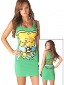 TMNT Leonardo Blue Tank Dress, halloween costume (TMNT Leonardo Blue Tank Dress)