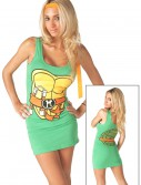 TMNT Michelangelo Orange Tank Dress, halloween costume (TMNT Michelangelo Orange Tank Dress)