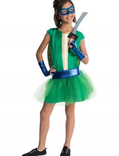 TMNT Movie Child Leonardo Tutu Dress Costume, halloween costume (TMNT Movie Child Leonardo Tutu Dress Costume)