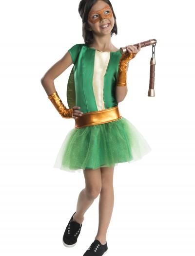 TMNT Movie Child Michelangelo Tutu Dress Costume, halloween costume (TMNT Movie Child Michelangelo Tutu Dress Costume)