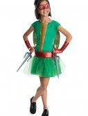 TMNT Movie Child Raphael Tutu Dress Costume, halloween costume (TMNT Movie Child Raphael Tutu Dress Costume)