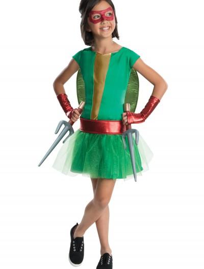 TMNT Movie Child Raphael Tutu Dress Costume, halloween costume (TMNT Movie Child Raphael Tutu Dress Costume)