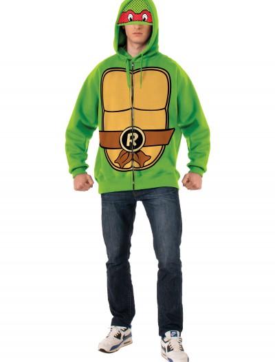 TMNT Raphael Adult Hoodie, halloween costume (TMNT Raphael Adult Hoodie)