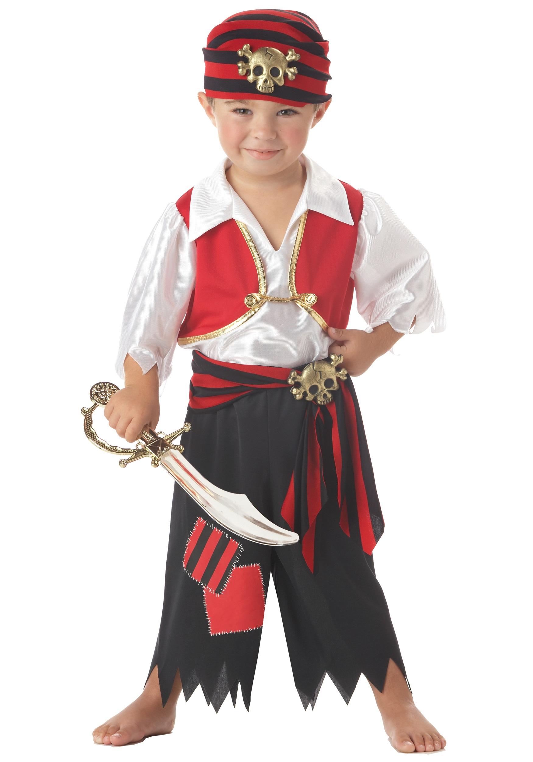Костюм пирата на новый год на мальчика