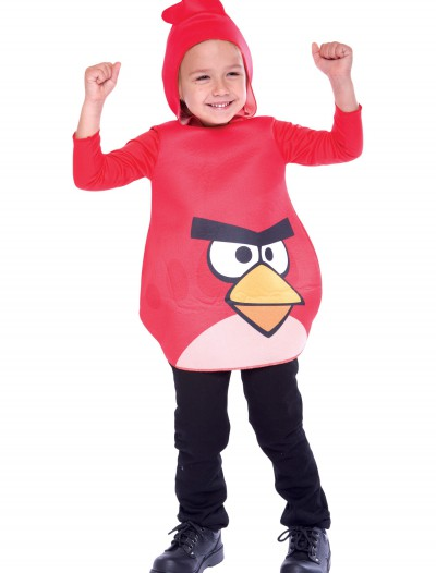 Toddler Angry Birds Red Bird Costume, halloween costume (Toddler Angry Birds Red Bird Costume)