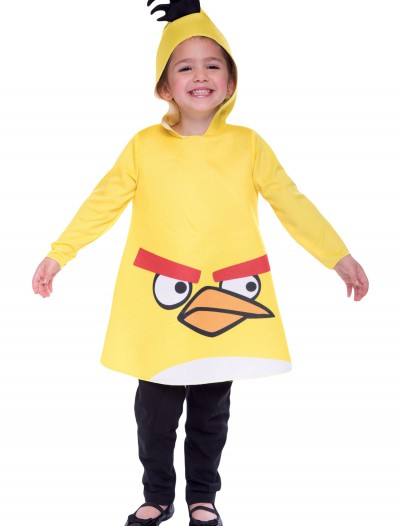 Toddler Angry Birds Yellow Bird Costume, halloween costume (Toddler Angry Birds Yellow Bird Costume)