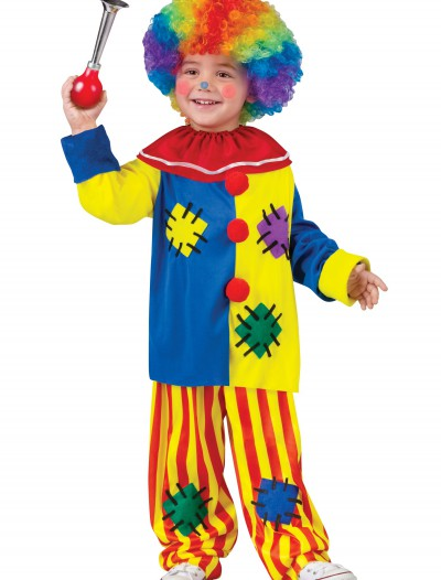 Toddler Big Top Clown Costume, halloween costume (Toddler Big Top Clown Costume)