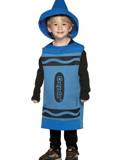 Toddler Blue Crayon Costume, halloween costume (Toddler Blue Crayon Costume)
