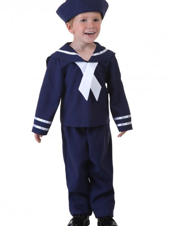 Toddler Blue Sailor Costume, halloween costume (Toddler Blue Sailor Costume)