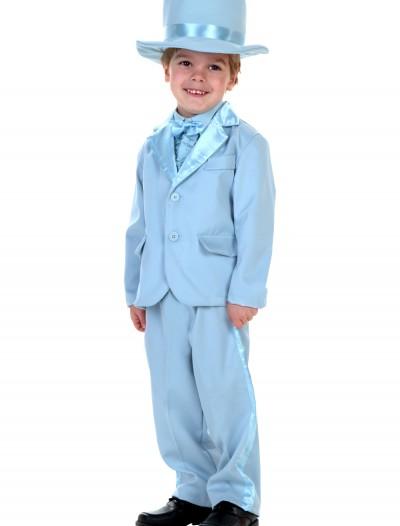 Toddler Blue Tuxedo, halloween costume (Toddler Blue Tuxedo)