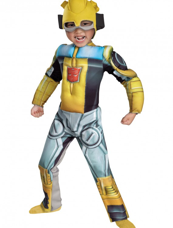 Toddler Bumblebee Rescue Bot Costume, halloween costume (Toddler Bumblebee Rescue Bot Costume)