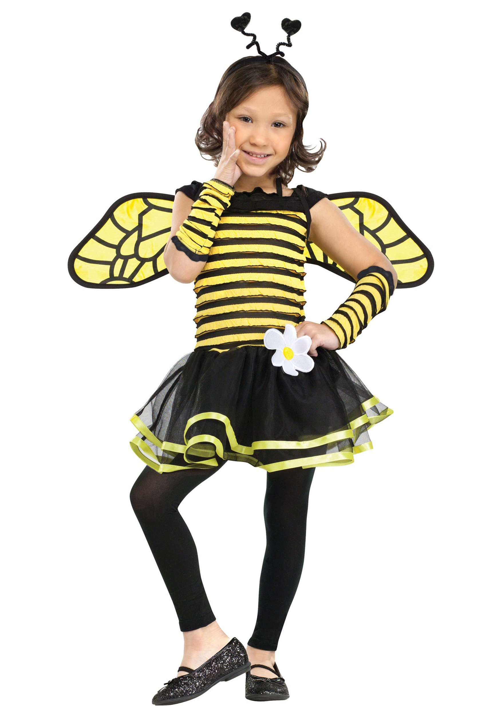 Toddler Busy Bee Costume  sc 1 st  Halloween Costumes & Toddler Busy Bee Costume - Halloween Costumes
