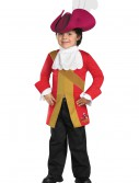 Toddler Captain Hook Classic Costume, halloween costume (Toddler Captain Hook Classic Costume)