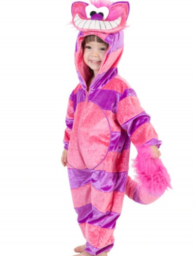 Toddler Cheshire Cat Jumpsuit, halloween costume (Toddler Cheshire Cat Jumpsuit)