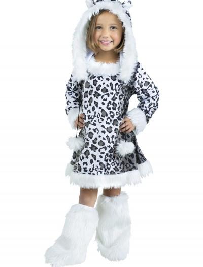 Toddler/Child Snow Leopard Costume, halloween costume (Toddler/Child Snow Leopard Costume)