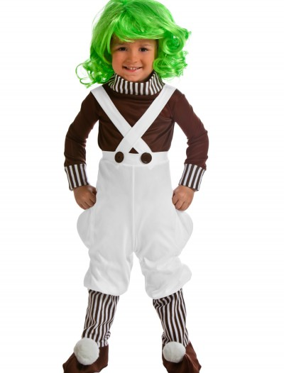 Toddler Chocolate Factory Worker Costume, halloween costume (Toddler Chocolate Factory Worker Costume)